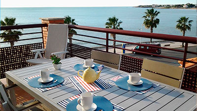 Rent apartment in Alcossebre in Vistamar